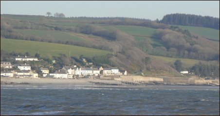 Amroth from Coppit Hall